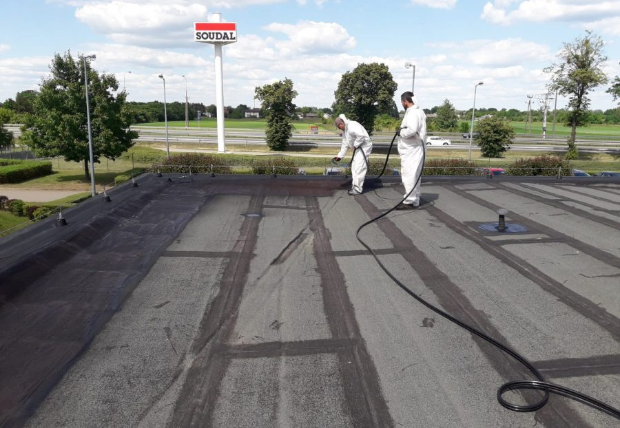 Renowacja dachu dla Firmy SOUDAL